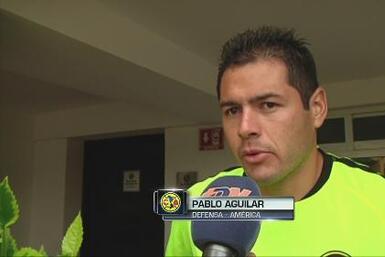 """Pablo Aguilar: """"Confiamos en Ambriz"""""""