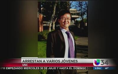 5 arrestos y entre ellos menores por muerte de estudiante
