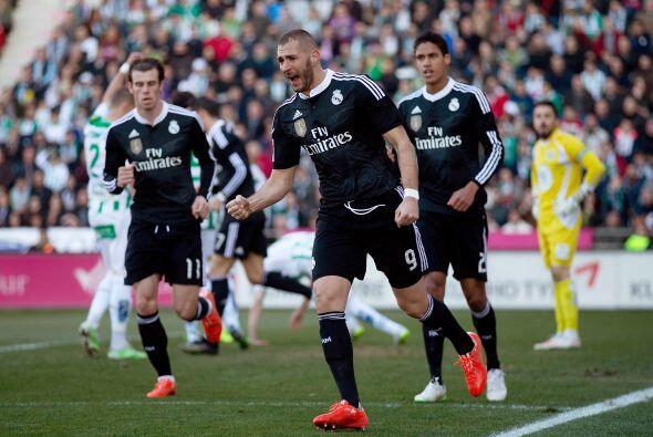 Entonces apareció Benzema para concretar el empate aprovechando u...