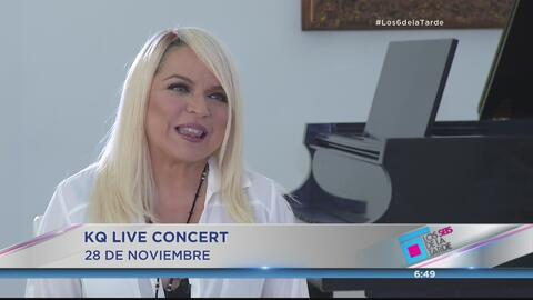 Ednita Nazario ready para el KQ Concert