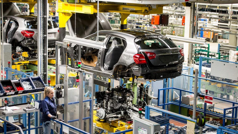 Planta de fabricación de Daimler