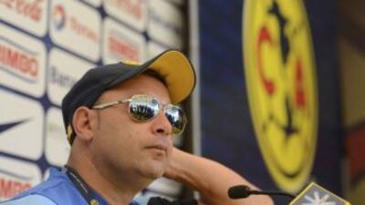 El entrenador americanista aceptó que cuando Rubens no piensa en el equi...