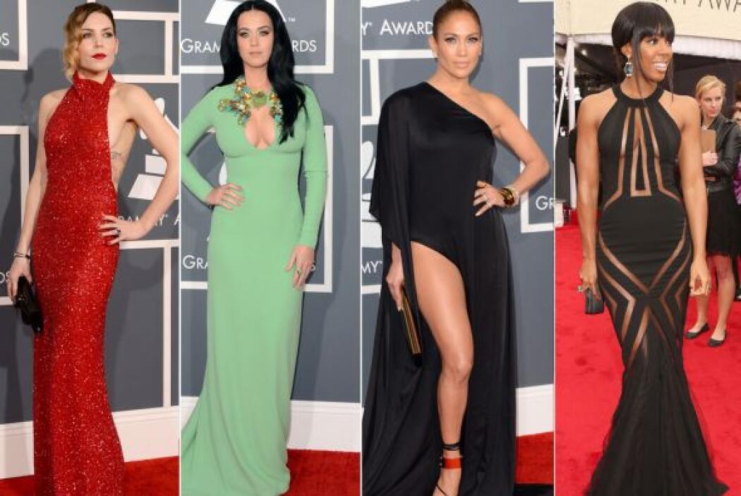 Se suponía que uno de los códigos de vestimenta en los Grammy era no luc...