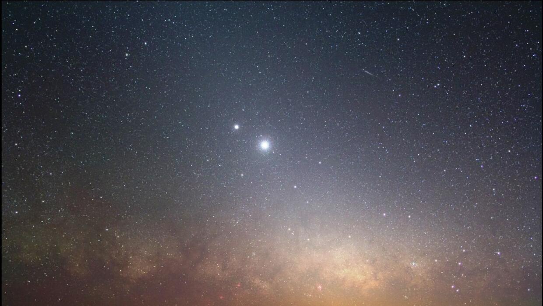 Anuncian asombrosa conjunción de Venus y Júpiter para este martes SAPR__...