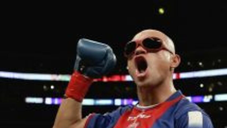'La Hiena' Barrios anunció el adiós al boxeo.