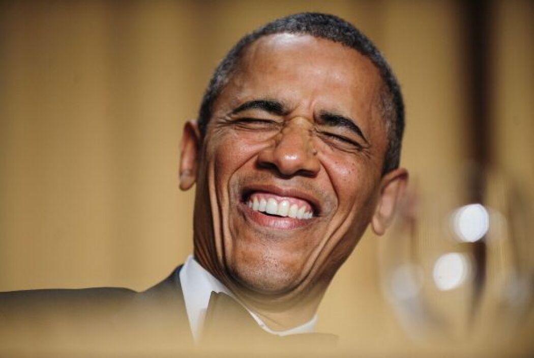 """Obama entró al salón al ritmo de la pieza de rap """"All I Do Is Win"""" (Todo..."""