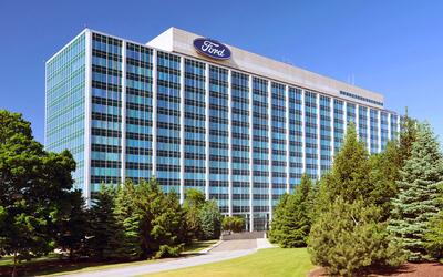 Cuartel general global de Ford en Dearborn, Michigan.