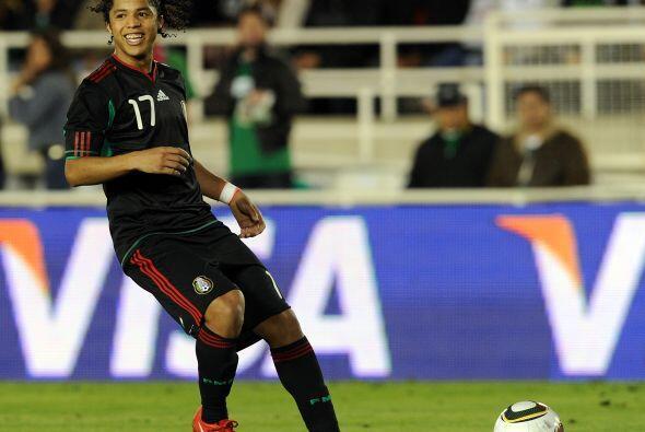 'Gio' seguía siendo llamado constantemente por la Selección Mexicana, e...