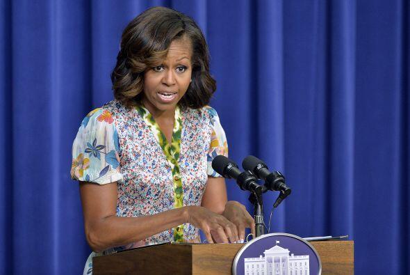Hace ocho meses Michelle dijo que estaba entrando a la crisis de los 40 .