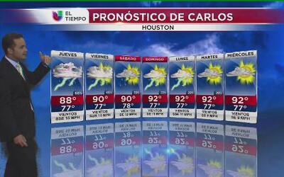 Se espera un jueves lluvioso