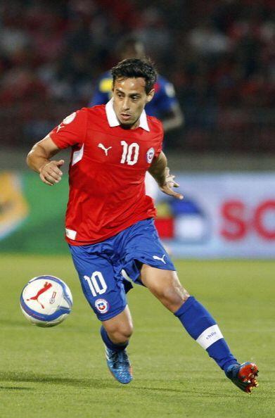 Jorge Valdivia.- El jugador veterano de esta selección, generador...