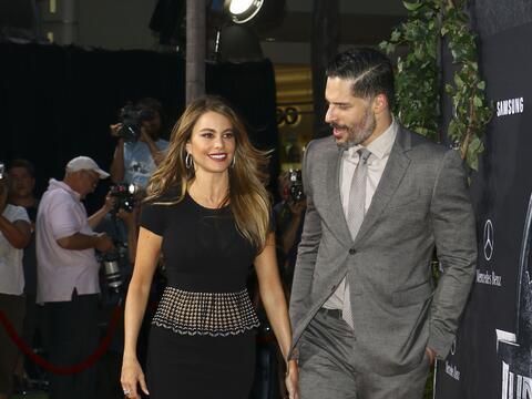 Sofía y Joe Manganiello