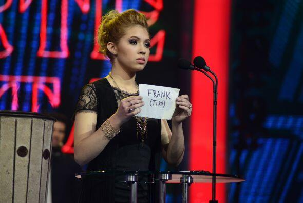Paloma votó en contra de Frank en la octava gala, enviando a muer...