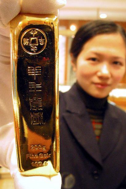Las reservas de oro del país más poblado del mundo, con 1.34 mil millone...