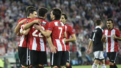 Athletic Club golea al Partizán