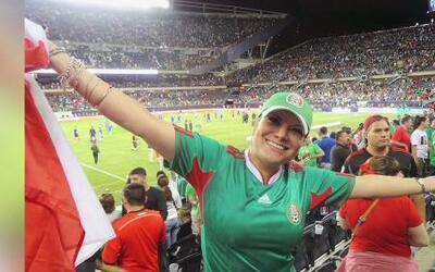 Diana Reyes ya está viviendo el Mundial de Brasil