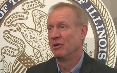 El gobernador republicano de Illinois no va a asistir a la inauguración...