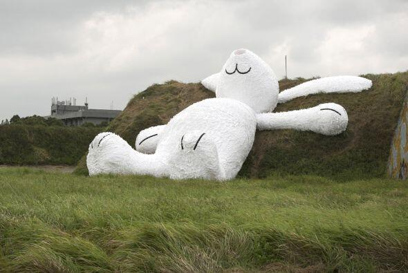 """El conejo, llamado """"Consejo de la luna"""", en relación con una leyenda chi..."""