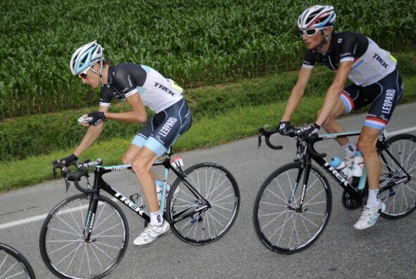 Los hermanos Frank y Andy Schleck traen el ciclismo en la sangre; sin em...