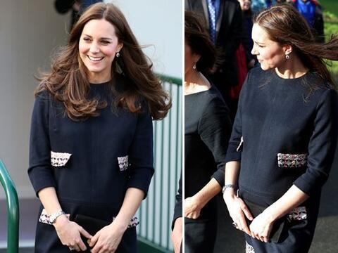 Middleton también deslumbró en Londres tras no verla desde...
