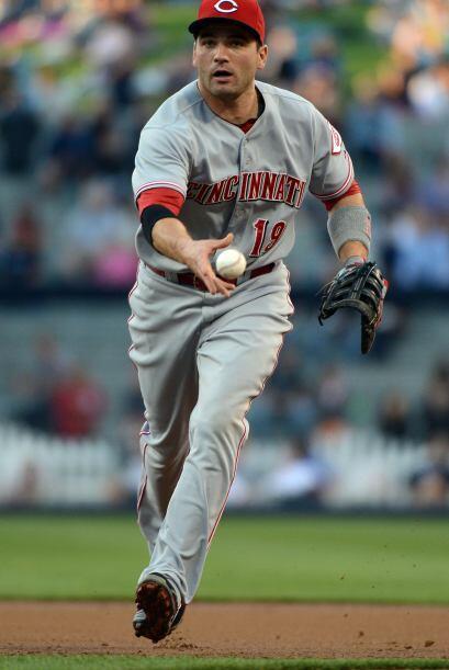 El canadiense Joey Votto (1B, Rojos).