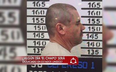 """¿Algún día será extraditado """"El Chapo"""" a EEUU?"""