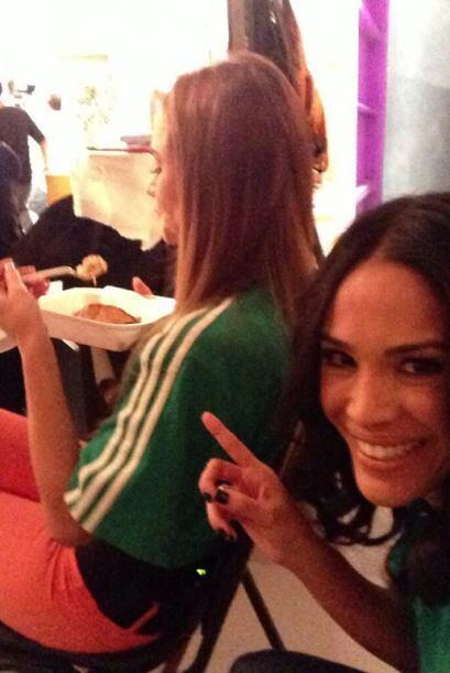 """""""Miren cómo agarré a @ximenacordoba. Come y come, ¡y tiene un cuerpazo!""""..."""