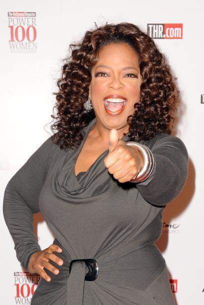 Oprha Winfrey es de las conductoras más emblemáticas de la televisión y...