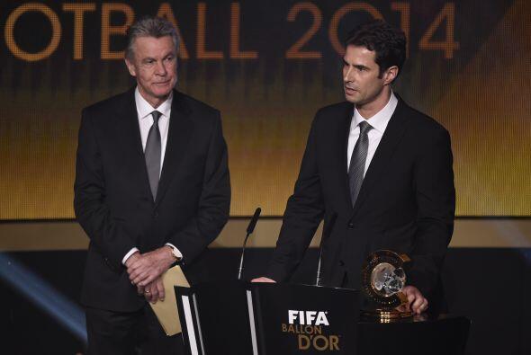 El entrenador  alemán Ralf Kellermann se llevó el premio al mejor entren...