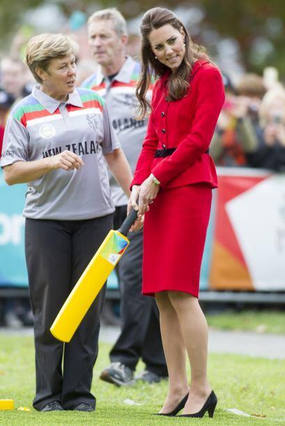 Sin importar tantas imposiciones, la frescura y espontaneidad de Kate la...
