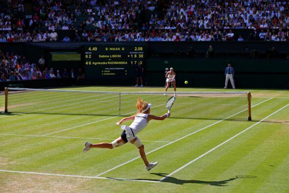 El duelo Lisicki-Radwanska se quedó cerca de la semifinal más larga de l...