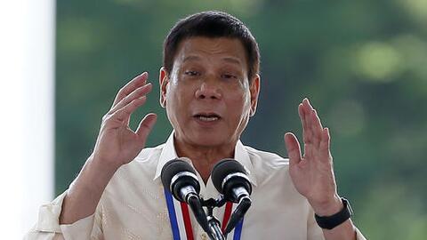 Duterte lamentó que sus palabras se tomaran como un ataque person...