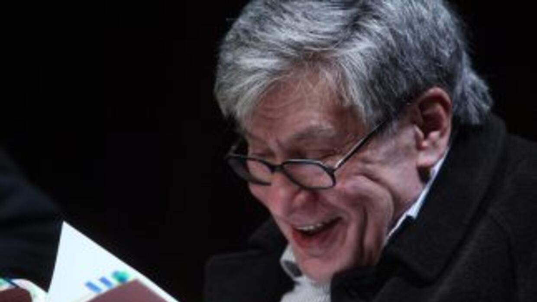 El escritor mexicanoJosé Emilio Pacheco.