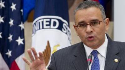 El Presidente de El Salvador, Mauricio Funes, lanzó un llamado para que...