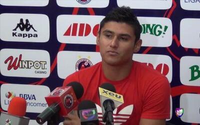 Edgar Andrade: 'Necesitamos los puntos ante Chivas'
