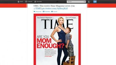 La portada de la controversia, está ya por todas las redes sociales.