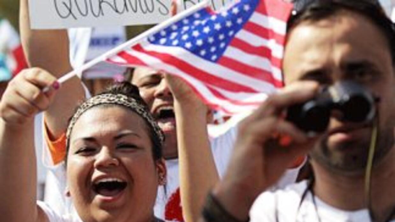 El plan de reforma migratorio del Grupo de los Ocho propone una vía ampl...