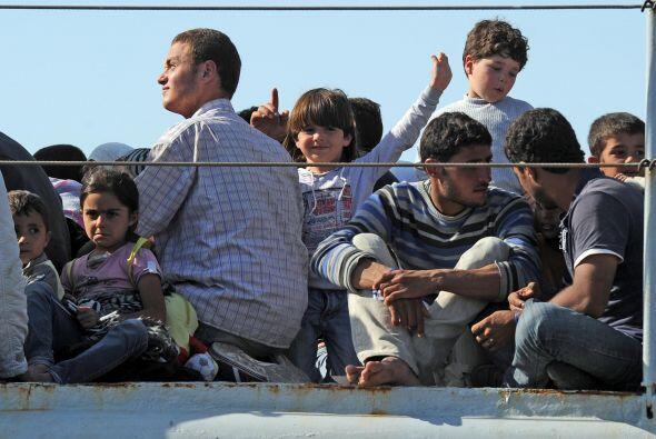 Italia sufre una crisis humanitaria generada por la inmigración....