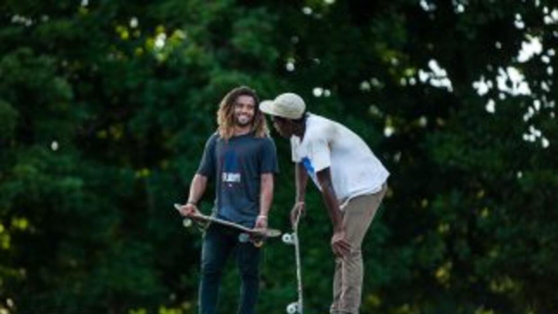 El skate toma fuerza como deporte en Cuba.