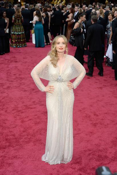 El vestido de Julie Delpy era de Jenny Packham, algo terrible, ya que es...