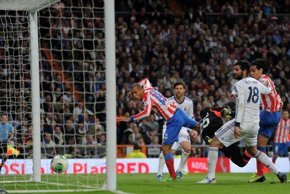 El también jugador del Atlético de Madrid fue el hombre de la final de c...