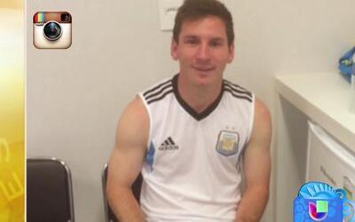 Lionel Messi no celebró la victoria ante Holanda por prueba antidoping s...