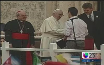 Surge nueva versión de discurso ofrecido durante visita del papa en Cuba