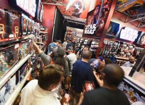 Frenesí en Miami por juguetes de Star Wars