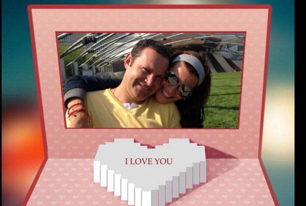 """Gracias @cristy_bernal eres mi amorcitooooo"", dijo Alan. (Febrero 14, 2..."