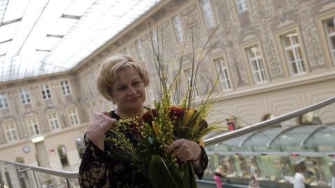 Vera Caslasvka, mítica gimnasta checa