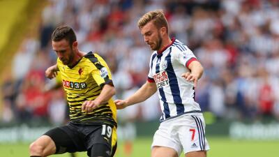 Miguel Layún disputó 55 minutos en la presentación del Watford en su cancha