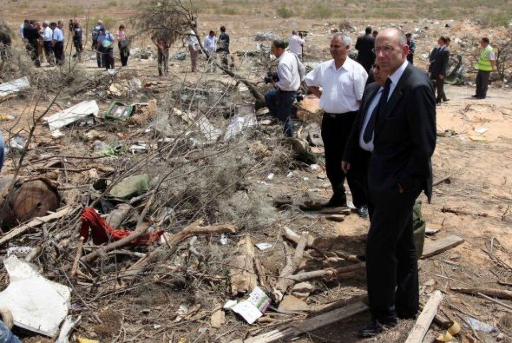 25 de enero: Un avión se estrelló frente a las costas de Líbano, poco de...