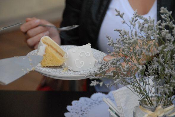 Ana y Luis ya tomaron la decisión de su pastel de bodas.