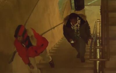 Buscan a los sospechosos de apuñalar a un guardia de seguridad en un cen...